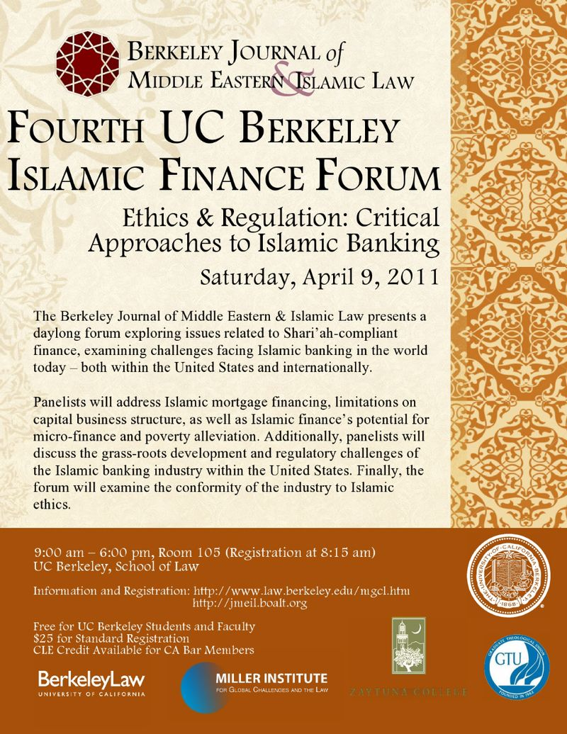 Berkeley Islamic Finance Forum 2011