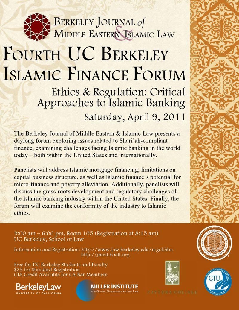 Berkeley Islamic Finance Forum 2011